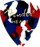 Fender 351 Classic Celluloid Picks 12-Pack (Confetti)Heavy