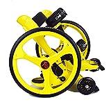 Tafeng sports Amazing con Colores Brillantes y lámpara Flash Rodillo de Bicicleta Patinaje de China (Amarillo)