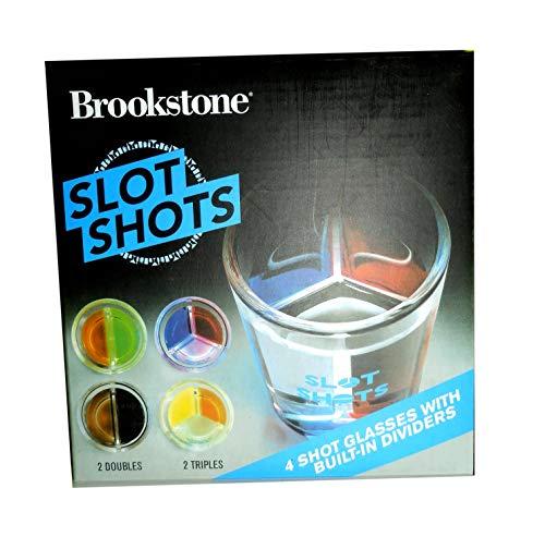 Ranura para Shots. 4 Vasos para Hacer cócteles + Recetas + dispensador de dosis