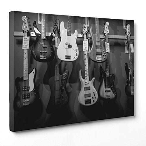 Cuadro lienzo Canvas–ConKrea–Listo colgar–Guitarra