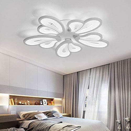 ZLL Home Schlafzimmer Deckenleuchte, LED Deckenleuchte Unterputz Deckenleuchte Deckenleuchte Creative Acryl Anhänger Mode Kronleuchter Leuchte Ideal für Lounge, Eingang, Wohnzimmer und Schlafzimmer,