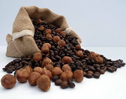 Rich Hazelnut Flavoured Decaffeinated Coffee (200g, Cafetiere)