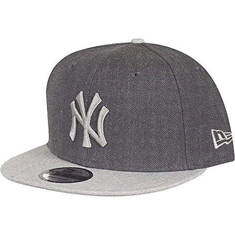 New Era Herren Caps / Snapback Cap Contrast Heather NY Yankees grau M/L