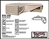 Raffles Covers RHS250 Abdeckung für Lounge Eckset 250 x 250 cm Abdeckung für Lounge Eckset, Schutzhülle in L-Form für Lounge Sets, Schutzplane, Regenschutz Ecklounge