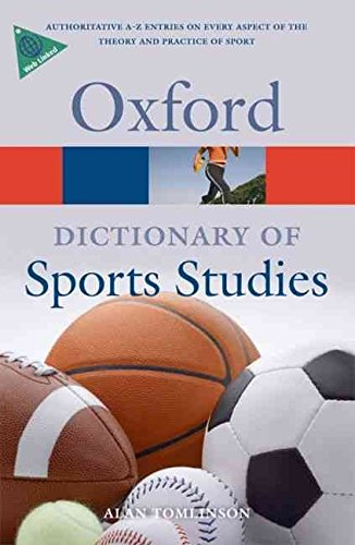[A Dictionary of Sports Studies] (By: Alan Tomlinson) [published: April, 2010]