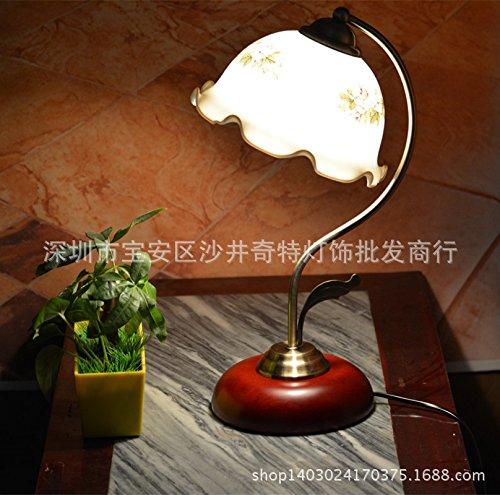 ZQ@QX Moda design arredamento retrò Comodino lampada semplice ufficio scrivania