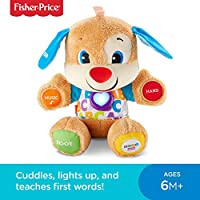 Fisher-Price Laugh and Learn Puppy, blue or pink