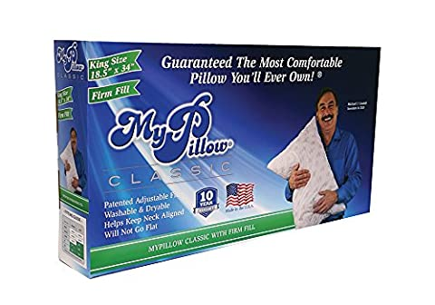 MyPillow Inc Classic Series Bed Pillow - King Classic - Firm