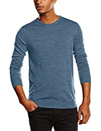 Selected Shdtower Merino Crew Neck Noos - Pull - Homme