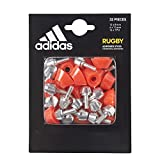 adidas BQ0701 Rugby Studs Mixte Adulte, Silver-Rp/Red-SLD, FR Unique (Taille Fabricant : NS)