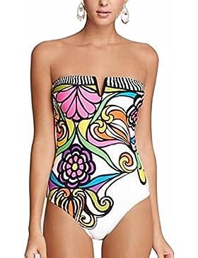 UMilk Mujer Traje de baño de una pieza Monokini