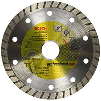 Bosch 2608602394 – Disco tronzador de diamante Universal Turbo (125 x 22,23 x 2 x 10 mm)