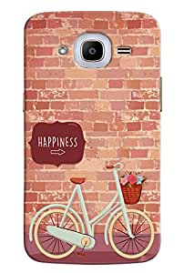 FindStuff Printed Back Cover For Samsung Galaxy J2 2016