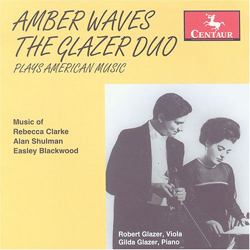Amber Wave (Amber Waves,the Glazer Duo Plays American Music)