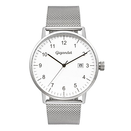 Gigandet Minimalism Men's Analogue Wrist Watch Quartz Silver G26-005
