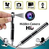 HD1080P No Hole Hidden Mini Spy Pen Cámara Videocámara Grabadora de Video Cámara Pen Loop Grabación