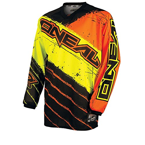 O'Neal Mayhem Jersey REVOLT Schwarz Orange Moto Cross Enduro FR DH Offroad, 0023R-3, Größe Medium (Orange Hose Mayhem)