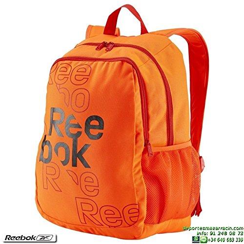 Reebok Kids Royal Graph Backpack - Mochila, color rojo, talla única