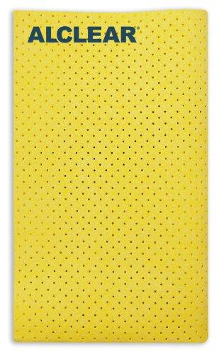 ALCLEAR-950015-Panno-Scamosciato-in-Microfibra-Ultra-per-Lucidatura-Vetri-Dimensioni-40-x-45-cm-Ambra