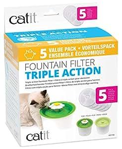 catit 43746 Triple Action Filter 5er-Set