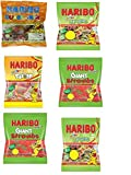 Haribo Sweets (6 X Assorted Bags) Suitable for Vegetarian - 800g Total