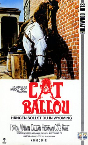 Cat Ballou - Hängen sollst du in Wyoming [VHS]