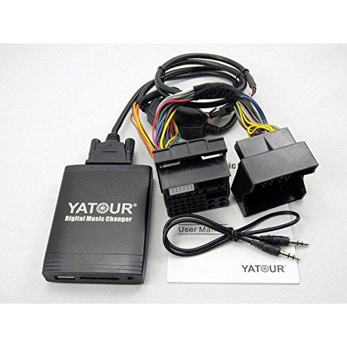 Interface adaptateur cable porte USB / SD / AUX / MP3 pour autoradio FORD