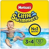 Huggies Little Swimmers Schwimmwindeln Größe 3/4 7-15 kg 1er Packung (1 x 12 Stück)