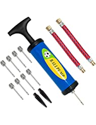 Lifebee Inflator Ball Pump, Needles Valve Adapter Set for Basketball Football, Balloons, Volleyball and Rugby
