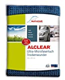 ALCLEAR Microfasertuch Trockenwunder - perfekt für Auto und Motorrad - 60x40 cm dunkelblau