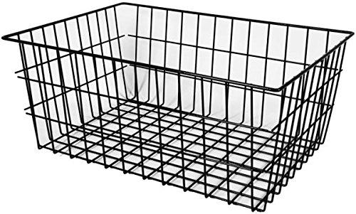 Artex spa 34.53.36 torino cestino posteriore per bici, nero, 53 x 36 x 22 cm