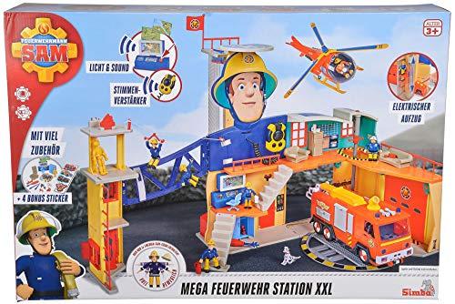 Feuerwehrmann Sam Simba 925-1059 Mega Feuerwehr Station XXL
