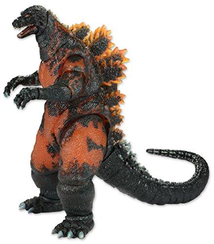 """Neca Godzilla - Burning Classic Godzilla 12"""" Head to T."""