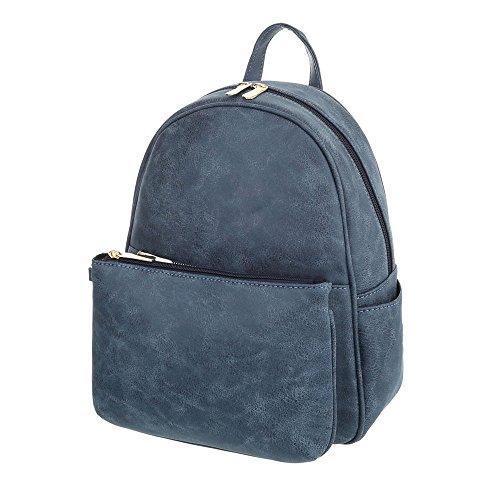Taschen In Used Optik Mit Extra Blau