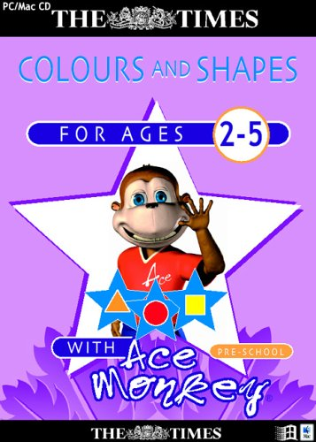 The Times Ace Monkey Pre-School Colours & Shapes (Ages 2-5) Test