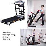 SAC Home Multi-Funktion (klappbar) treadmill-running/Walken, Sit Ups, Vibro Gürtel.