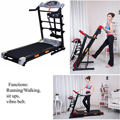 SAC Home Multi-Funktion (klappbar) treadmill-running/Walken, Sit Ups, Vibro Gürtel.