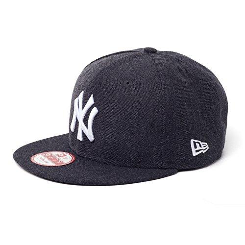 New Era Tonal Team Heather Snap Neyyan Otc - Schirmmütze Linie New York Yankees für Herren, Farbe Blau, Größe M-L (Tonale Linien)