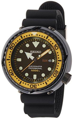 Seiko Prospex Marine Master Reloj Diver de Cuarzo Cristal de Zafiro 1000M Diver sbbn027Hombres Reloj