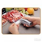 #6: BJE New White Sealer, Portable Sealing Tool Heat Mini Handheld Plastic Bag Impluse Sealer