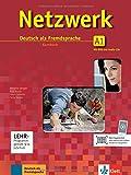 Netzwerk A1: Deutsch als Fremdsprache. Kursbuch mit 2 DVDs und 2 Audio-CDs (Netzwerk/Deutsch als...