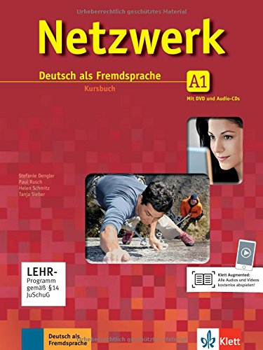 Netzwerk A1. Kursbuch. Per le Scuole superiori. Con CD-ROM. Con espansione online: Netzwerk a1, libro del alumno + 2 cd + dvd