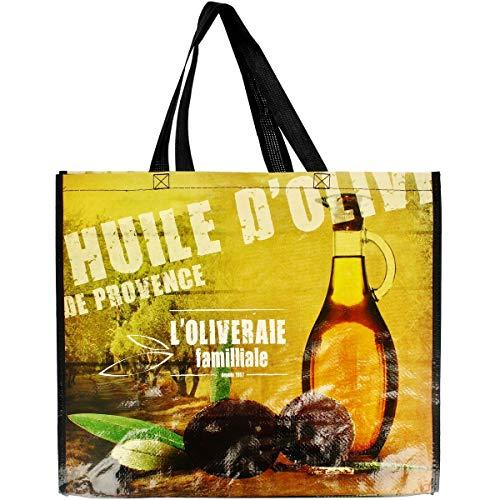 Promobo - Sac Pour Course Shopping Cabas Collection Du Terroir Huile D'Olive