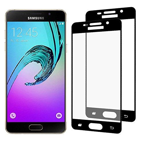 [2-Pack] Samsung Galaxy A5 2016 Cristal Templado, Nazzamo Samsung Galaxy A5 2016...