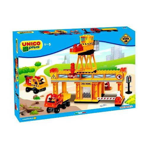 unico plus costruzioni  Androni Giocattoli Costruzioni Unico Plus Base Cantiere, 8000796085276