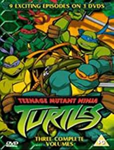 Teenage Mutant Ninja Turtles - Three Complete Volumes [DVD]