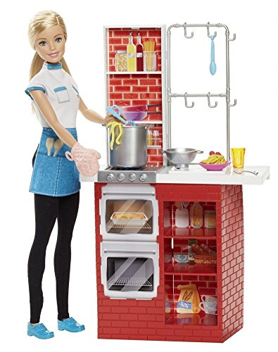 Barbie-Careers-Pasta-Chef-Multi-Color