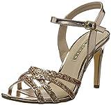 Buffalo Shoes Damen 15S90-2 METALLIC PU Glitter Knöchelriemchen, Mehrfarbig (Rose 23), 40 EU