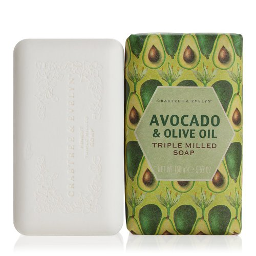 crabtree-evelyn-heritage-avocado-and-olive-oil-triple-milled-soap-158-g