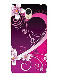 TREECASE Printed Soft Silicone Back Case Cover For Meizu M3 Note